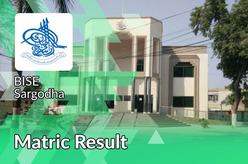 Sargodha Board Matric Result