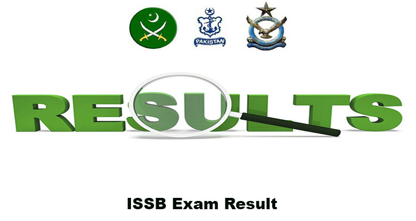ISSB Exam Results