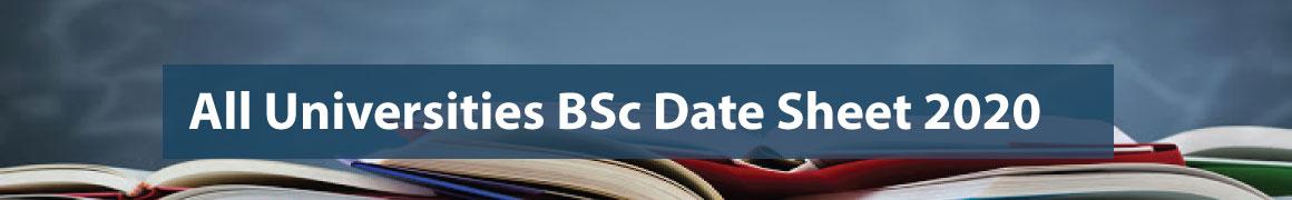 BA Date Sheet 2020