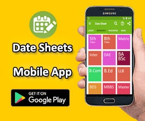 Date Sheets App
