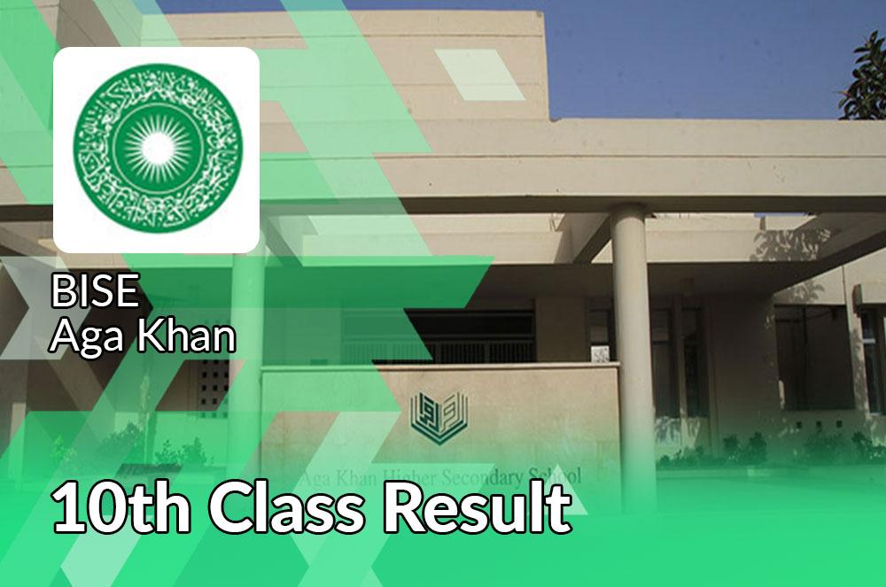 Aga Khan board 10th class result 2021