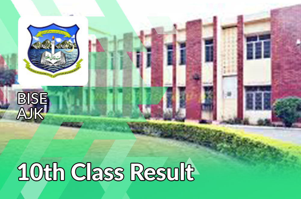 BISE AJK Board 10th Class Result 2021