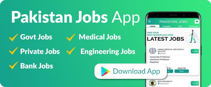Pakistan Jobs app
