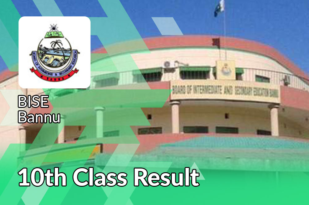 bise Bannu board 10th class result 2021