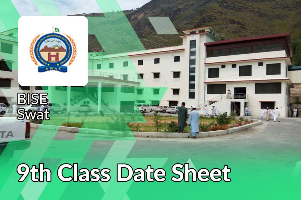 9th Date Sheet Bise Swat Board