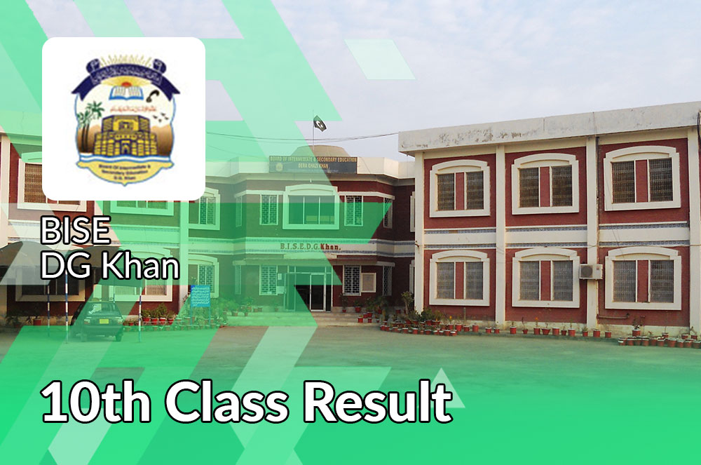 BISE DG Khan Board 10th Class Result 2021