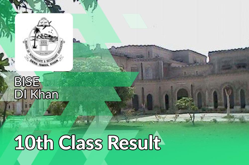 bise DI khan board 10th class result 2021