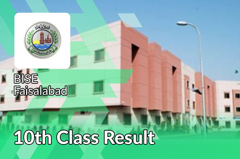10th class result 2021 bise Faisalabad board