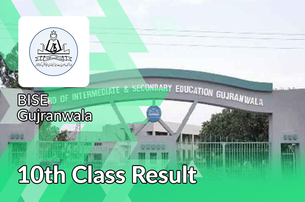 bise gujranwala board 10th class result 2021