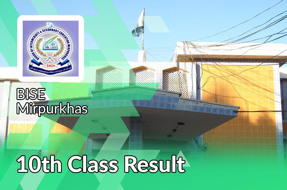 bise Mirpurkhas board 10th Class result 2021