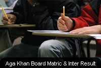 Aga Khan Board Matric Inter Results 2019