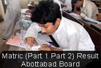 Abbottabad Board Is Going To Announce Its BISE Matric Result 2018 In The Month Of June All Students That Participated