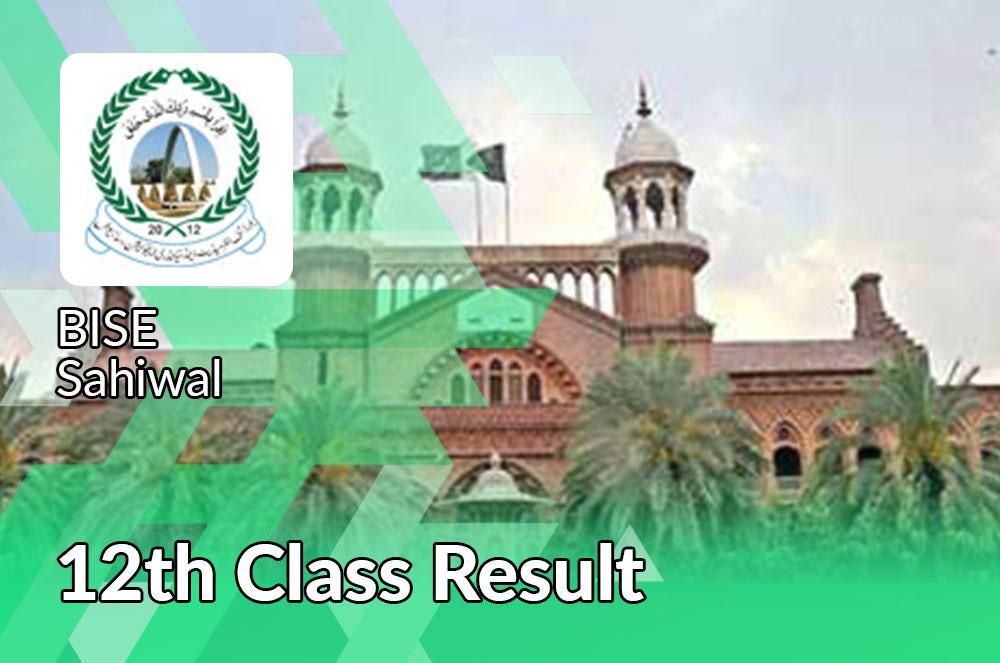 2nd year result 2021 sahiwal board