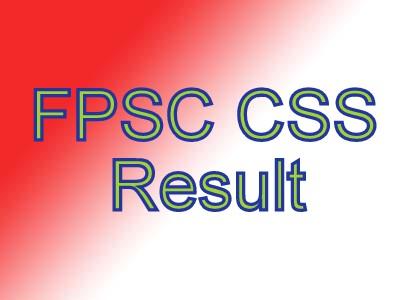 css exam result 2020