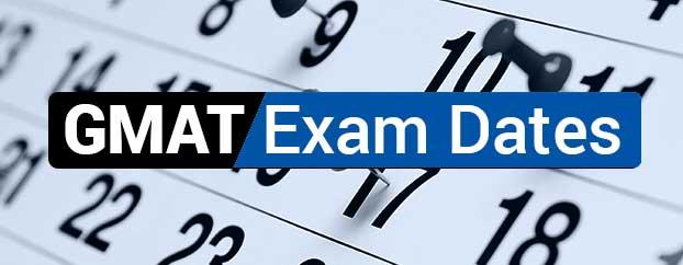 GMAT TEST Date Sheet