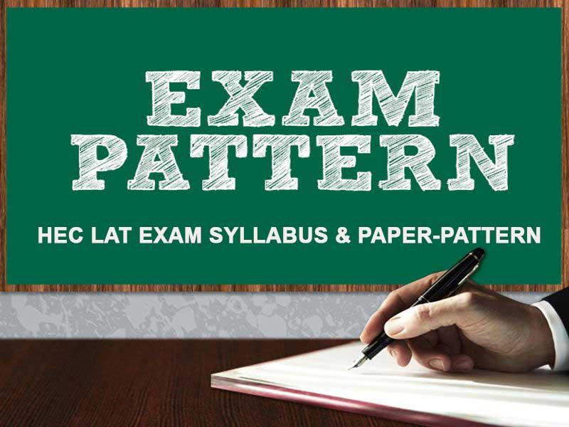 hec-lat-test-syllabus & exam-pattern